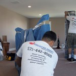 Highly trained American Smart Moving crew at work.